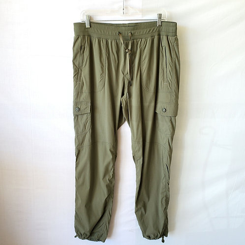 LL Bean Olive Cargo Pants - L
