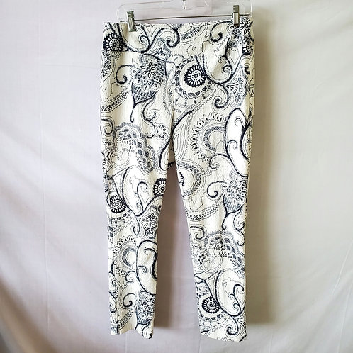 Joseph Ribkoff Textured Pull On Pants - size 10