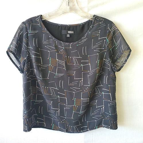 Brooklyn Industries Cropped Shirt - XS