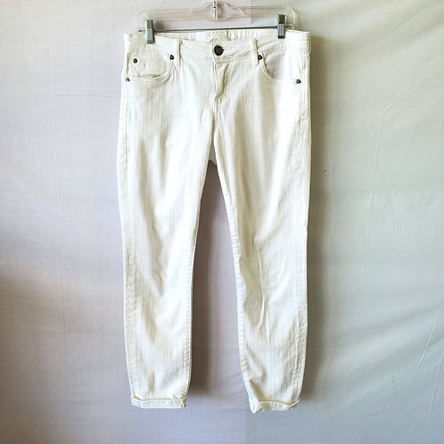 Kut from the Kloth White Sienna Skinny Jeans - size 8