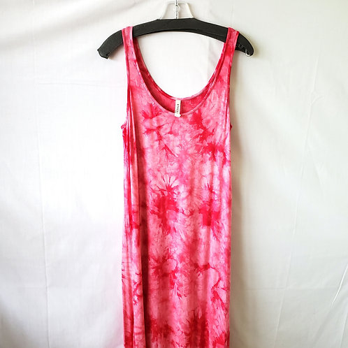 Pieces by Kensie Super Soft Tie Dye Maxi Dress - M