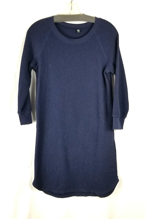 Uniqlo Navy Thermal Tunic - XS