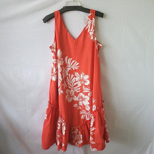 Royal Creations Hawaii Sundress with Ruffle - L