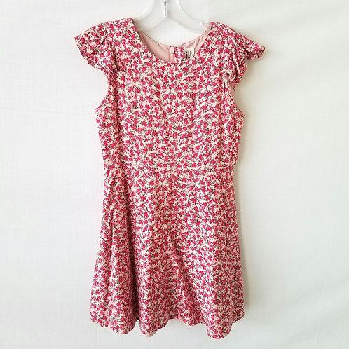 GAP Kid's Tiny Roses Dress - S