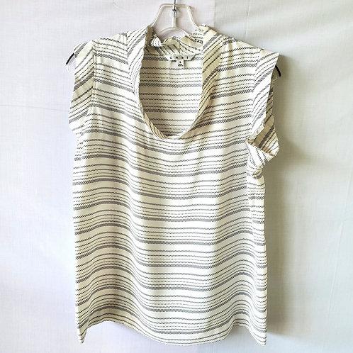 Cabi Sleeveless Striped Top - S