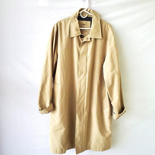 LL Bean Overcoat/Raincoat - L