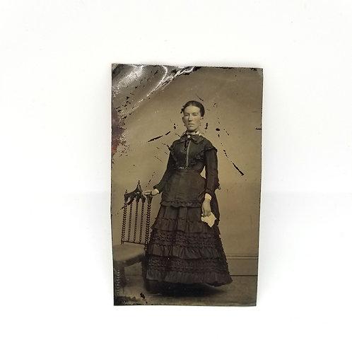 Antique Tintype Photo