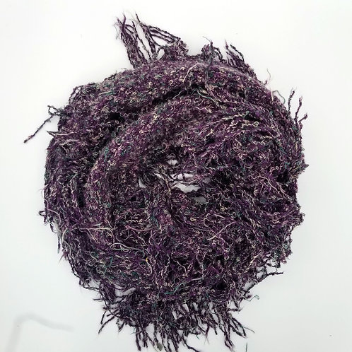 Wind River Purple Tassle Scarf