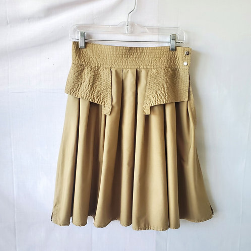 Vintage Episode Skirt with Placard - approx S