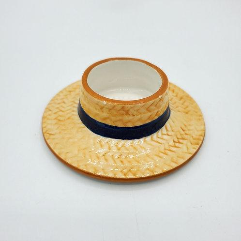 Yankee Candle Straw Hat Tea Light Holder - New