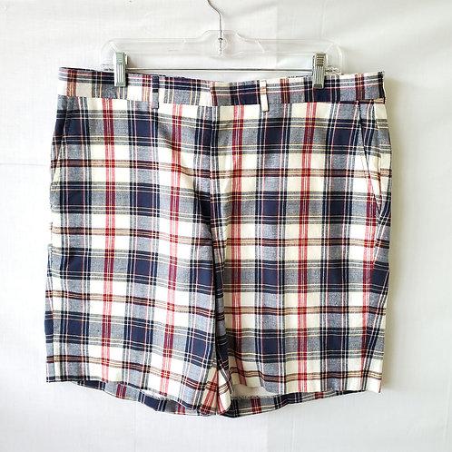 Vintage Latham House Plaid Shorts - size 40