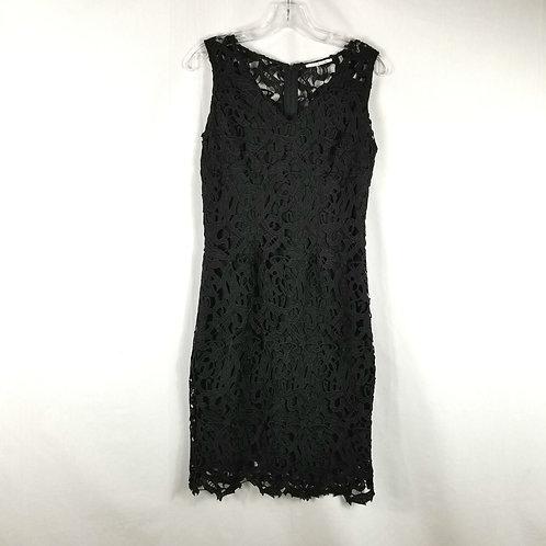 Tahari Black Lace Dress - size 2