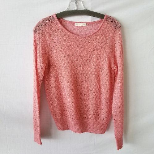 hinge Lace Knit Sweater - S