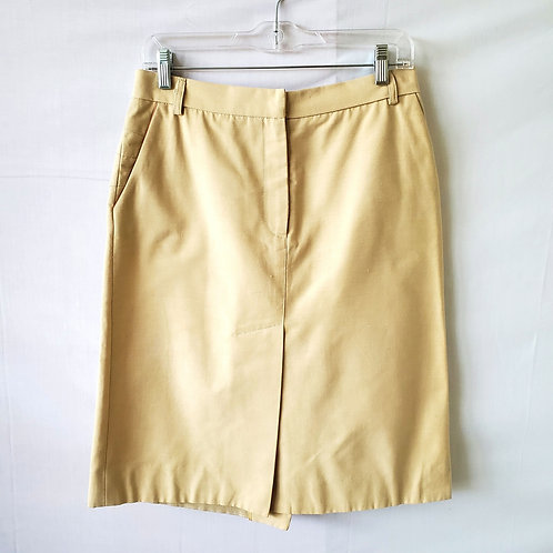 Marc Jacob's Khaki Twill Skirt - size 10