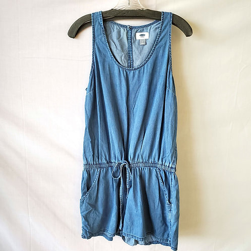 Old Navy Chambray Romper - M