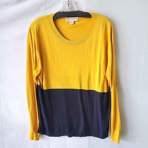 Michael Kors Colorblock Lightweight Sweater - S