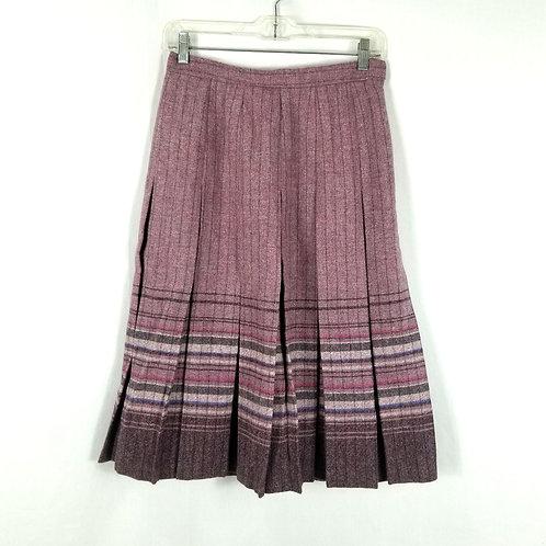 Vintage Edinburgh Woollen Mill Pure New Wool Skirt - size 12