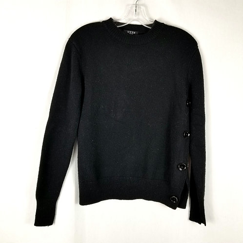 Otte New York Black Cashmere Blend Sweater - XS