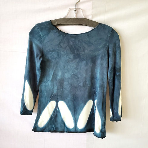 Moon Tide Hand Dyed Top - XS