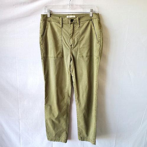 Madewell Olive Khaki Pants - size 30