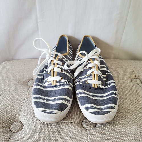 Keds Denim Look Canvas Sneakers - size 10