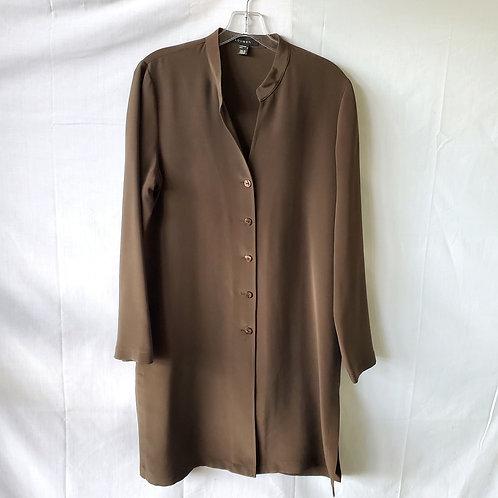Louben Long Length Button Up Tunic - size 8