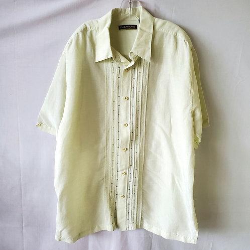 Cubavera Linen & Rayon Shirt - XL