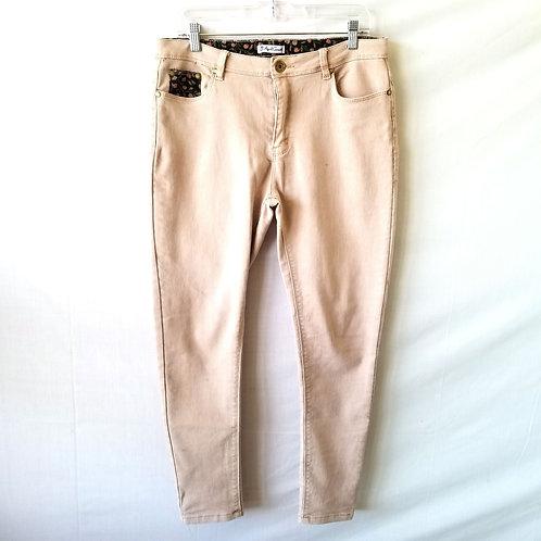 April Cornell Pale Peach Jeans - size 30