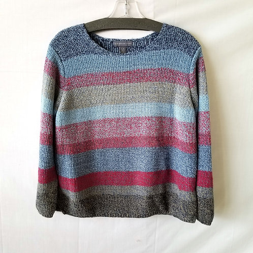 Northern Isles Ramie/Cotton Sweater - L