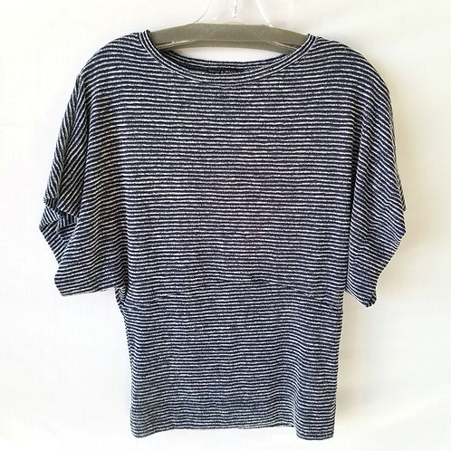 Nally + Millie Batwing Striped Top - S