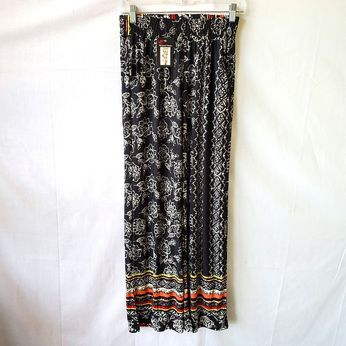 Lildy Silky Pants with Slit - S/M - New