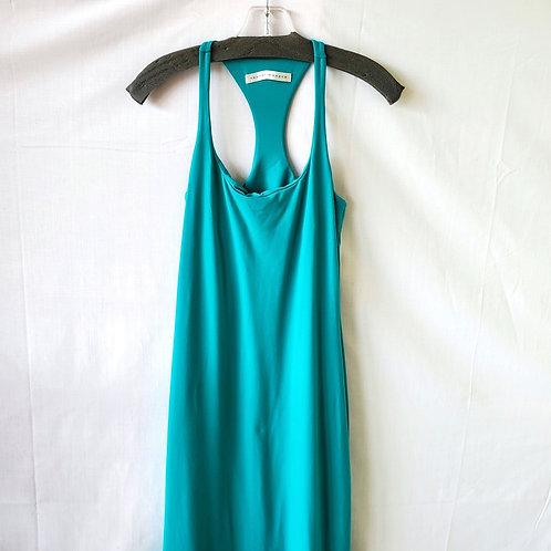 Susana Monaco Teal Racerback Stretchy Dress - M