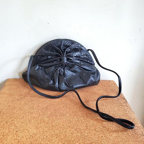 Vintage 80s Manolucci NY Leather Purse