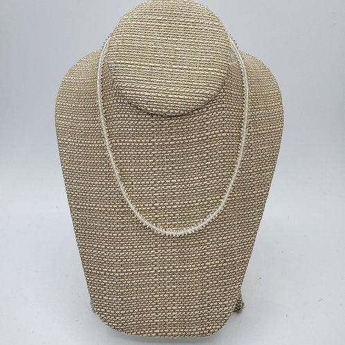 Vintage Crystal Bead Necklace