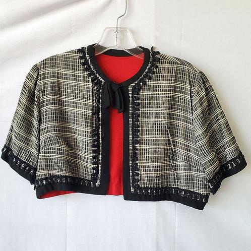 Vintage Bolero Jacket - approx S