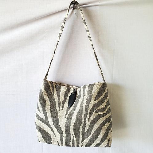 RagBags Small Zebra Print Cloth Bag