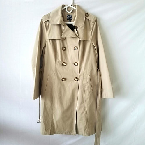 Saks Fifth Avenue Trench Coat with Lining - L