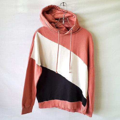 H & M Colorblock Hoodie - XS