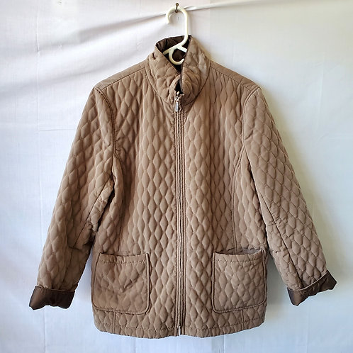 Gallery Quilted Reversible Jacket - XL