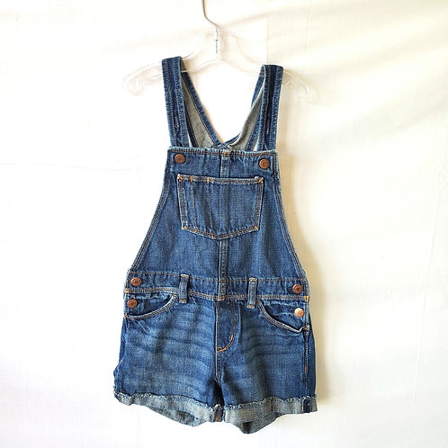 Old Navy Jean Shorts Overalls - size Kids 8