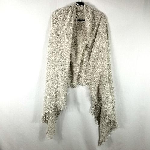 Madison 88 Light Gray Cozy Scarf/Shawl