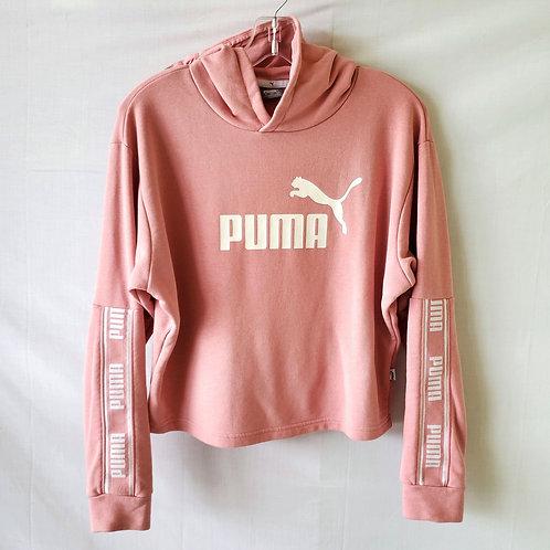 Puma Cropped Logo Hoodie - S
