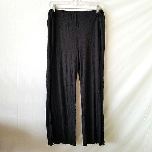 Chalet Crinkle Pants with Slits at Hem - M