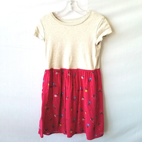 GAP Kid's Spring Dress with Floral Skirt - S