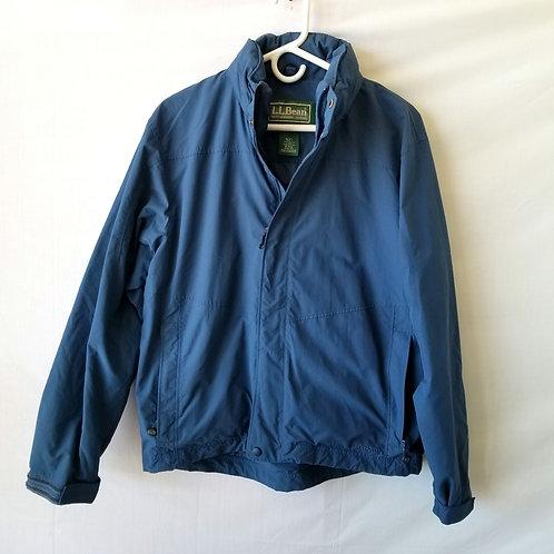 LL Bean Blue Nylon Jacket - M