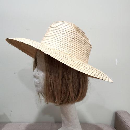 Straw Hat with Large Brim