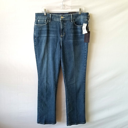 NYDJ 'Marilyn' Straight Leg Jeans - size 16S - New