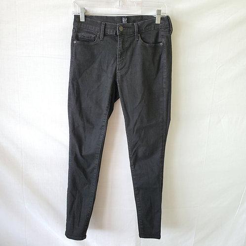 GAP Black Skinny Jeans - size 4