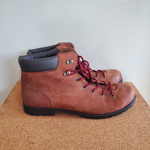 American Eagle Faux Leather Hiking Boots - size 13