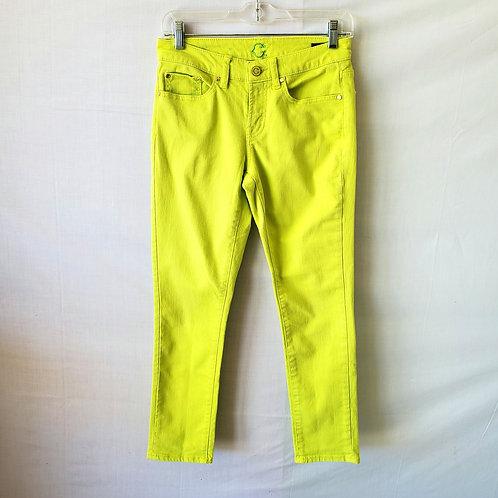 C. Wonder Skinny Crop Jeans - size 26